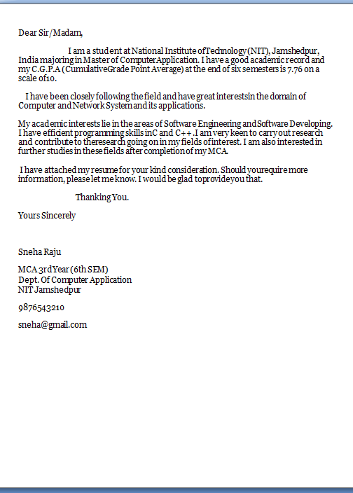 Always Send Job Application Formal Cover Letter Samples For
