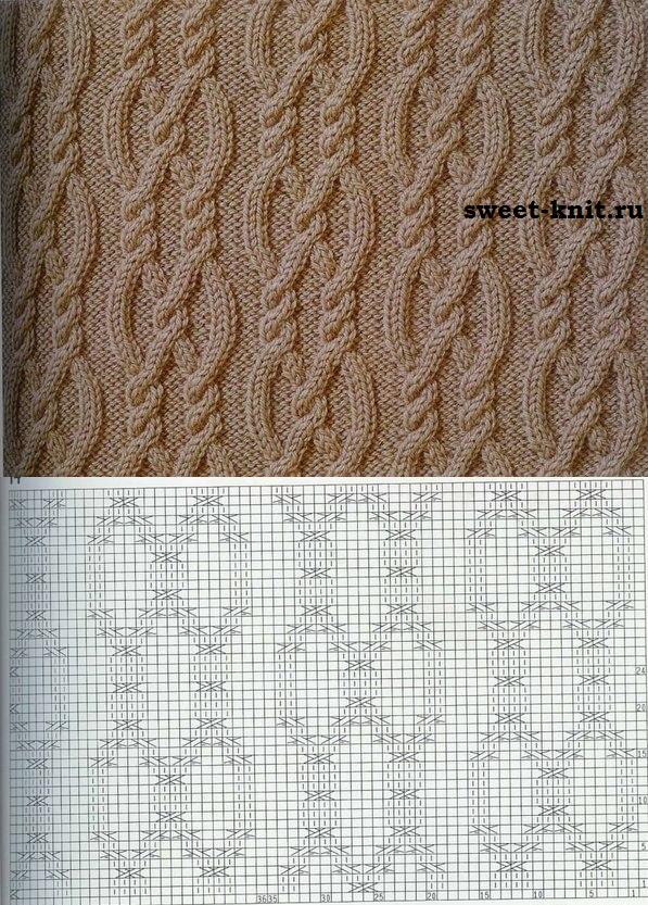 Схема узоров вязания аранов фото 579