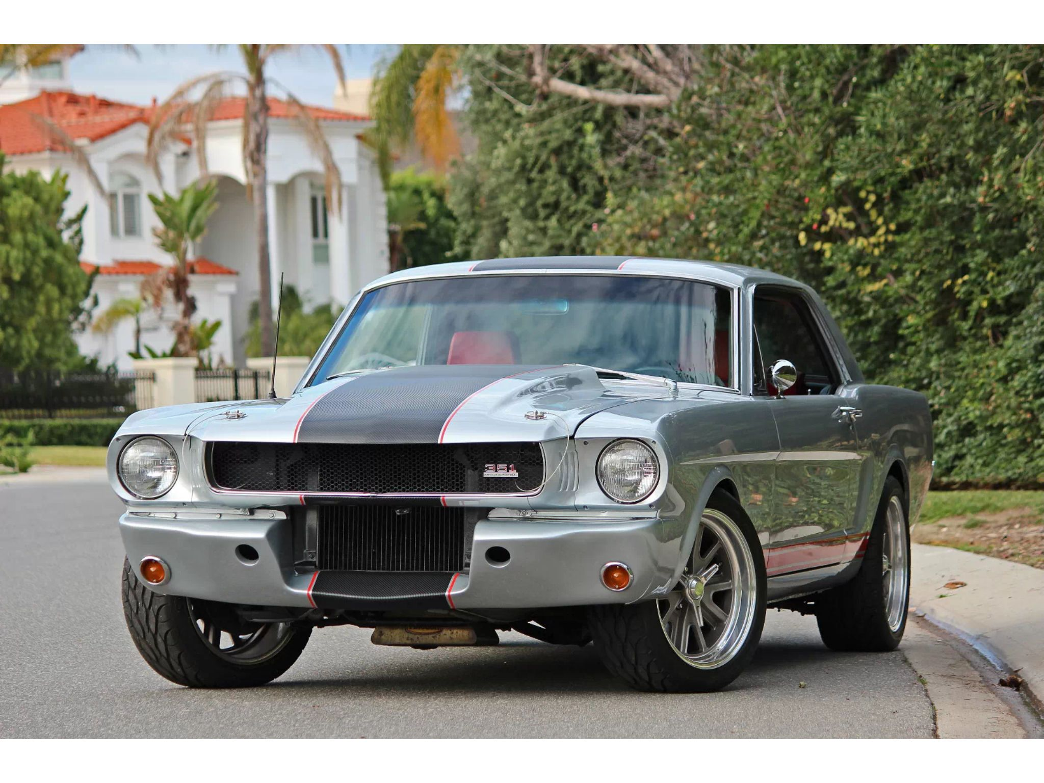 1966 Mustang Coupe Restomod Ford Mustang Classic Ford Mustang Shelby Cobra Vintage Mustang