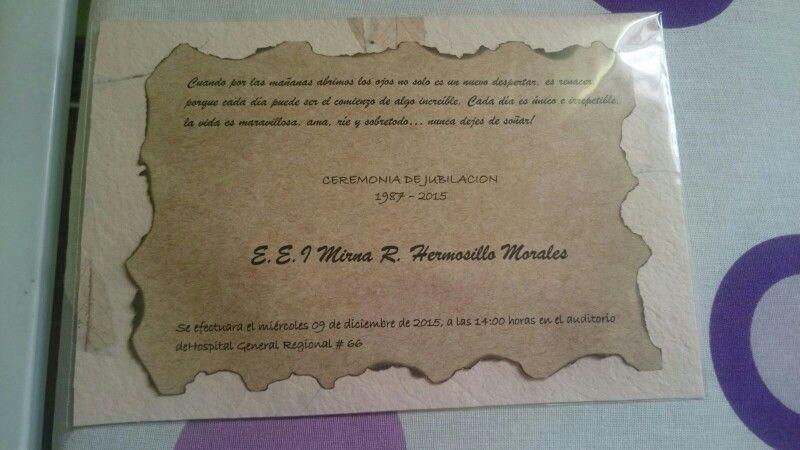 Invitacion Jubilacion De Enfermera Invitaciones Y