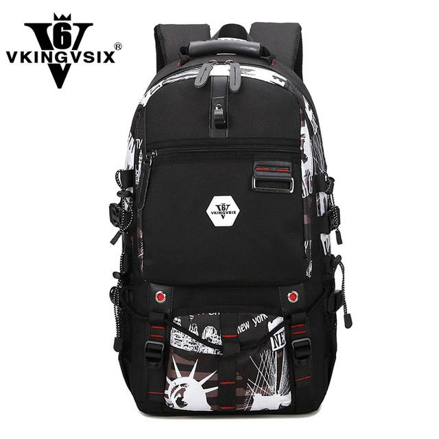 493508b8b3 New design USB Waterproof backpack Men inches laptop backpack 4 color  select Travel Bag 2017 school bag back pack mochila