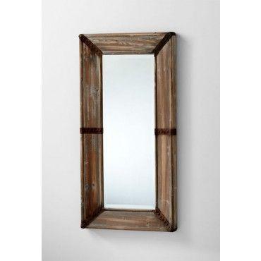 Cyan Design 04879 Raw Iron And Natural Wood Williams Mirror Lightingcity Cyandesign Mirror Iron Wood Homedecor Mirror Wall Decor Mirror Designs Mirror