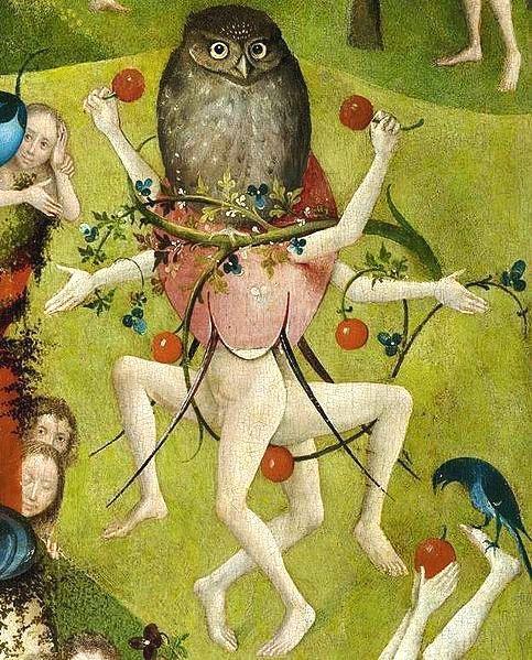 Detalle El Jardín De Las Delicias Hieronymus Bosch Hieronymous Bosch Garden Of Earthly Delights