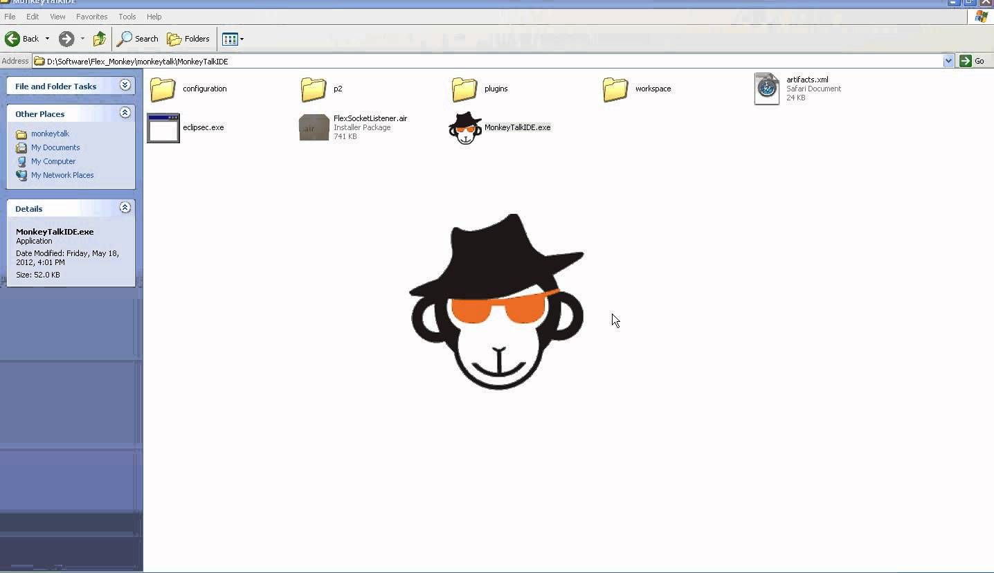 A tutorial about how to set up monkey talk framework for