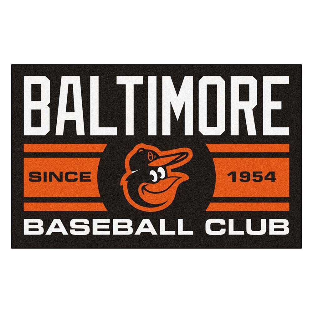 Baltimore Orioles MLB Starter Floor Mat (20x30)