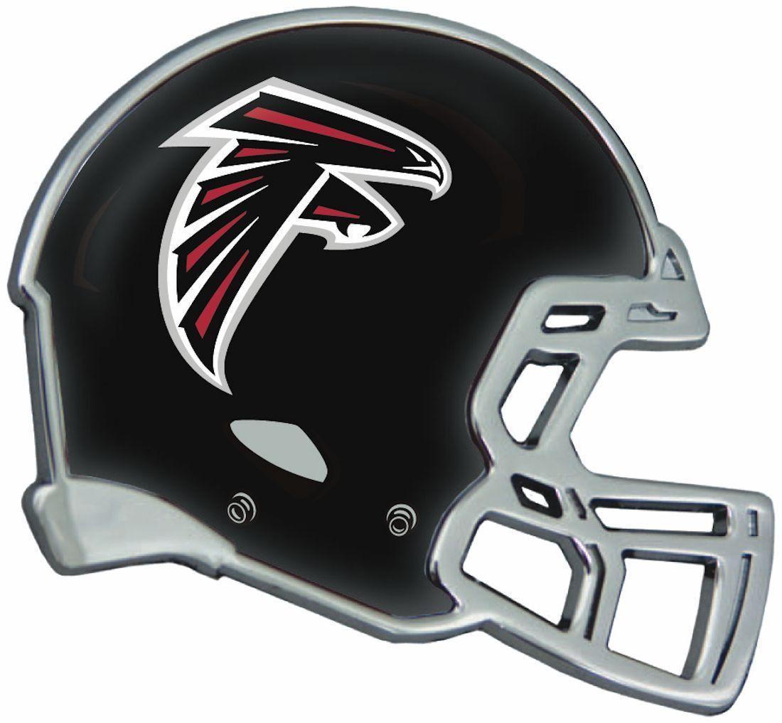 Atlanta Falcons Helmet Auto Emblem Atlanta Falcons Helmet Nfl Car Car Emblem