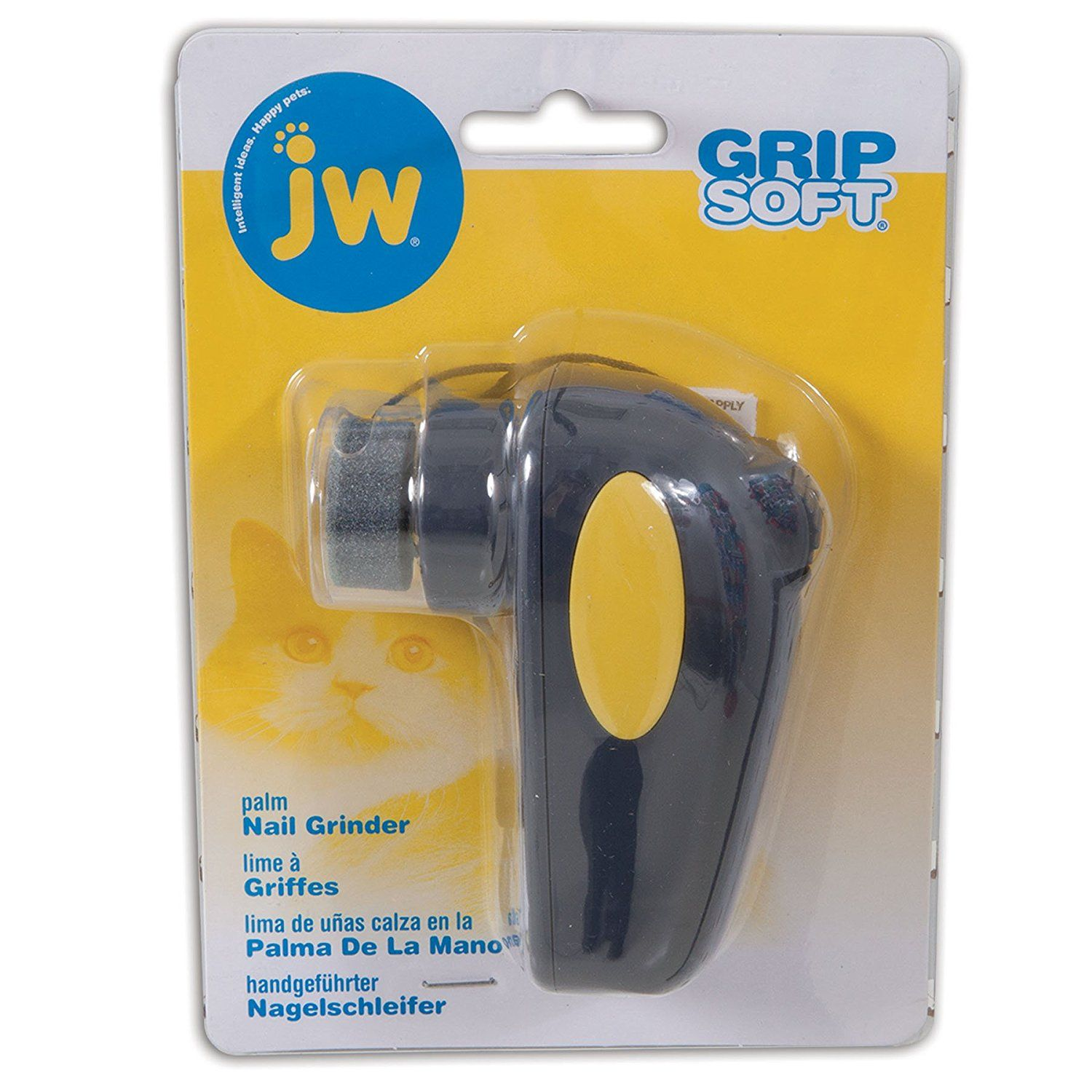 JW Pet Company Palm Nail Grinder for Cat Check this