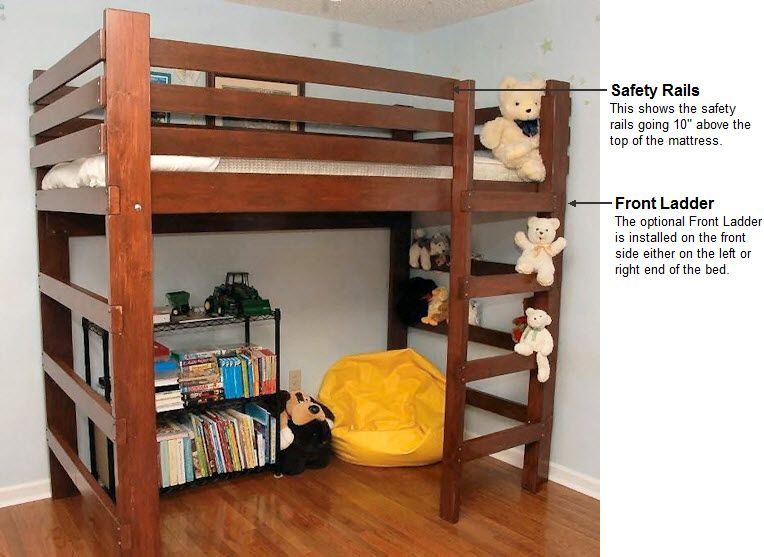 Youth Teen College Student Loft Bed Bunk Beds Order Form Loft Bunk Beds Kid 39 S Bedroom