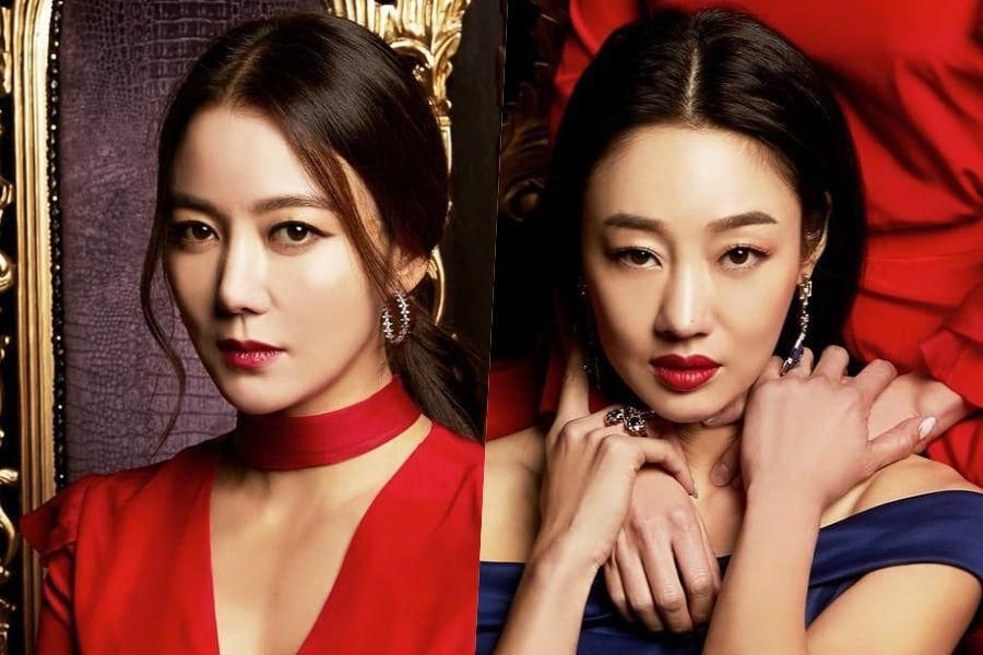 Lee So Yeon And Choi Yeo Jin's Upcoming Revenge Drama Unveils Chilling Poster