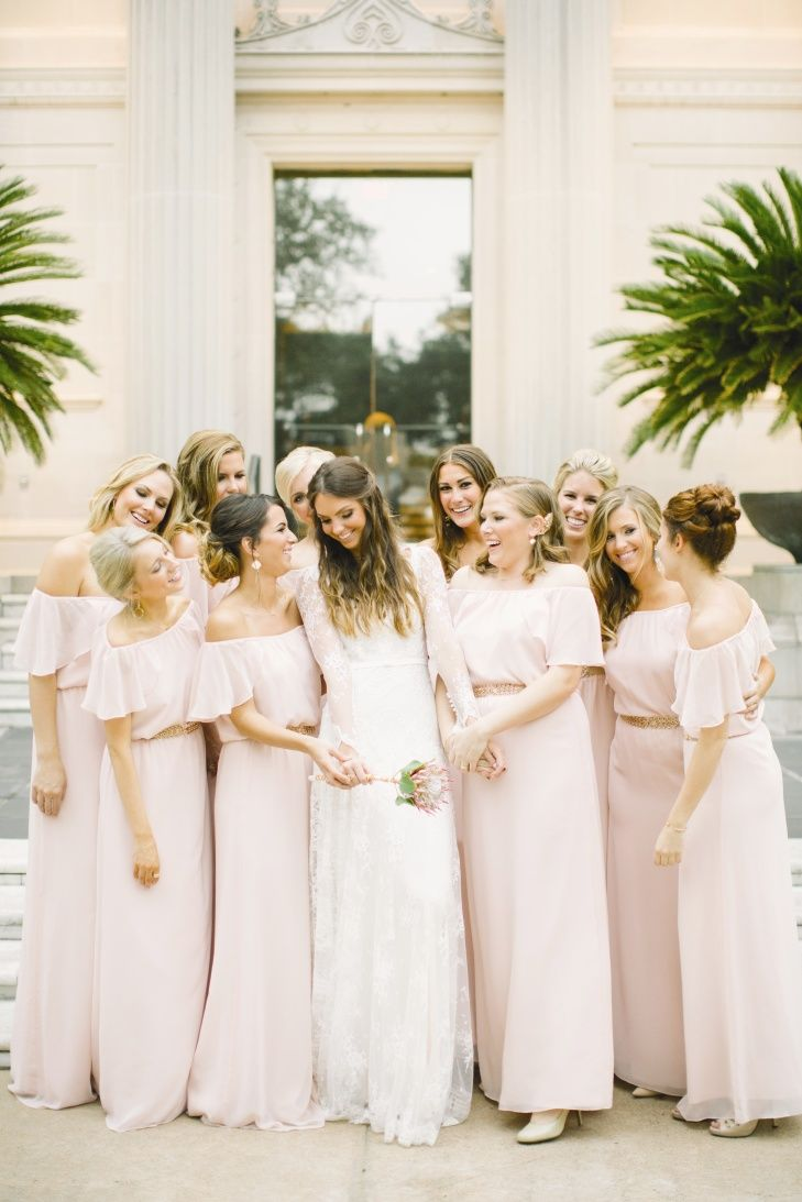 Pink bridesmaid dresses bella bridesmaid httpstheknot pink bridesmaid dresses bella bridesmaid httpstheknot ombrellifo Image collections