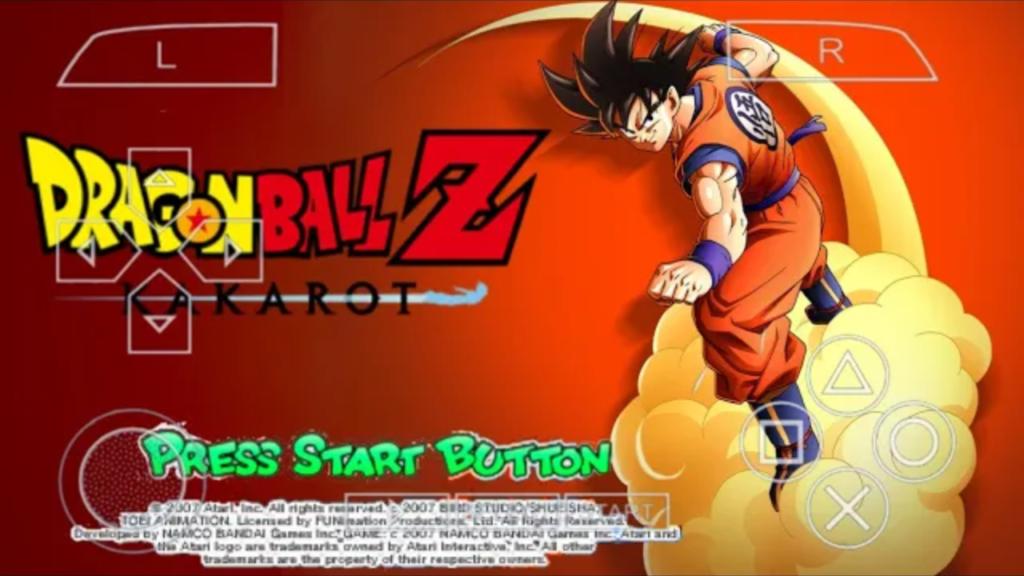 Dragon Ball Z Kakarot For Android PSP ISO Download