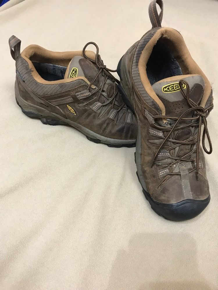 bbb5a248d6b KEEN Footwear DryUtility Men's Brown Lace Hiking Shoes Boots sz 10 M ...