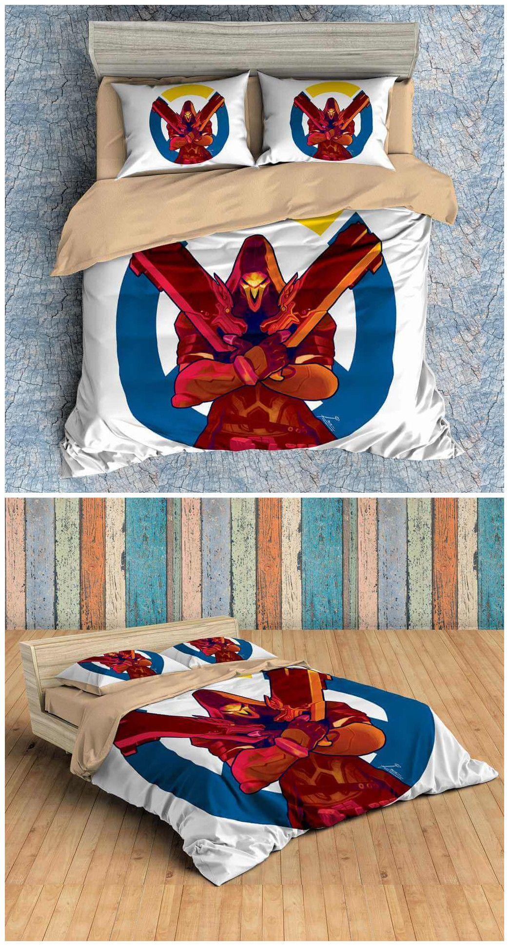 3D Customize Overwatch Bedding Set Duvet Cover Set Bedroom