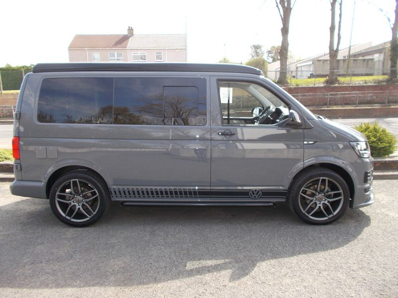 VW TDi Camper Van Pure Grey S Spec in 2020 Vw tdi, Tdi