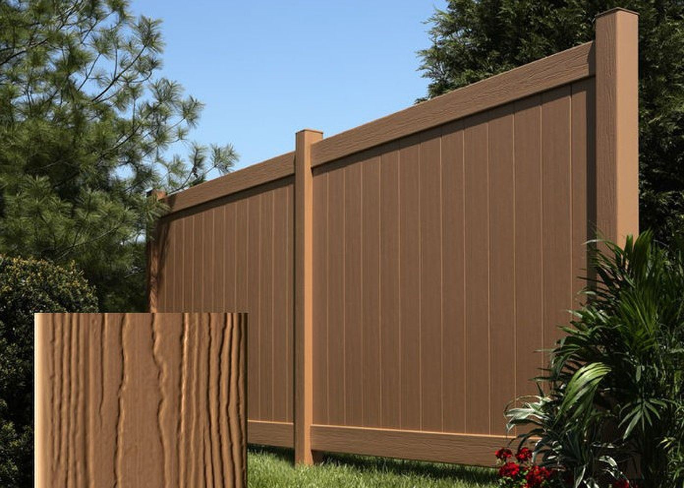 Qizhen black wood plastic composite fence outdoor fence garden qizhen black wood plastic composite fence outdoor fence garden fence privacy fence wpc fence picket fence panels composite fence design baanklon Gallery