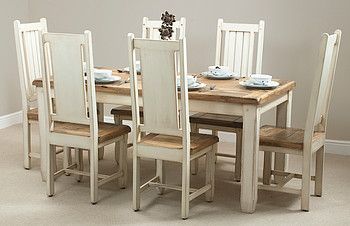 Dining Table This Is In The Uk Wonder If I Could Find It I Shabby Chic Kitchen Table And Chairs Shabby Chic Dining Room Table Dining Room Furniture Modern