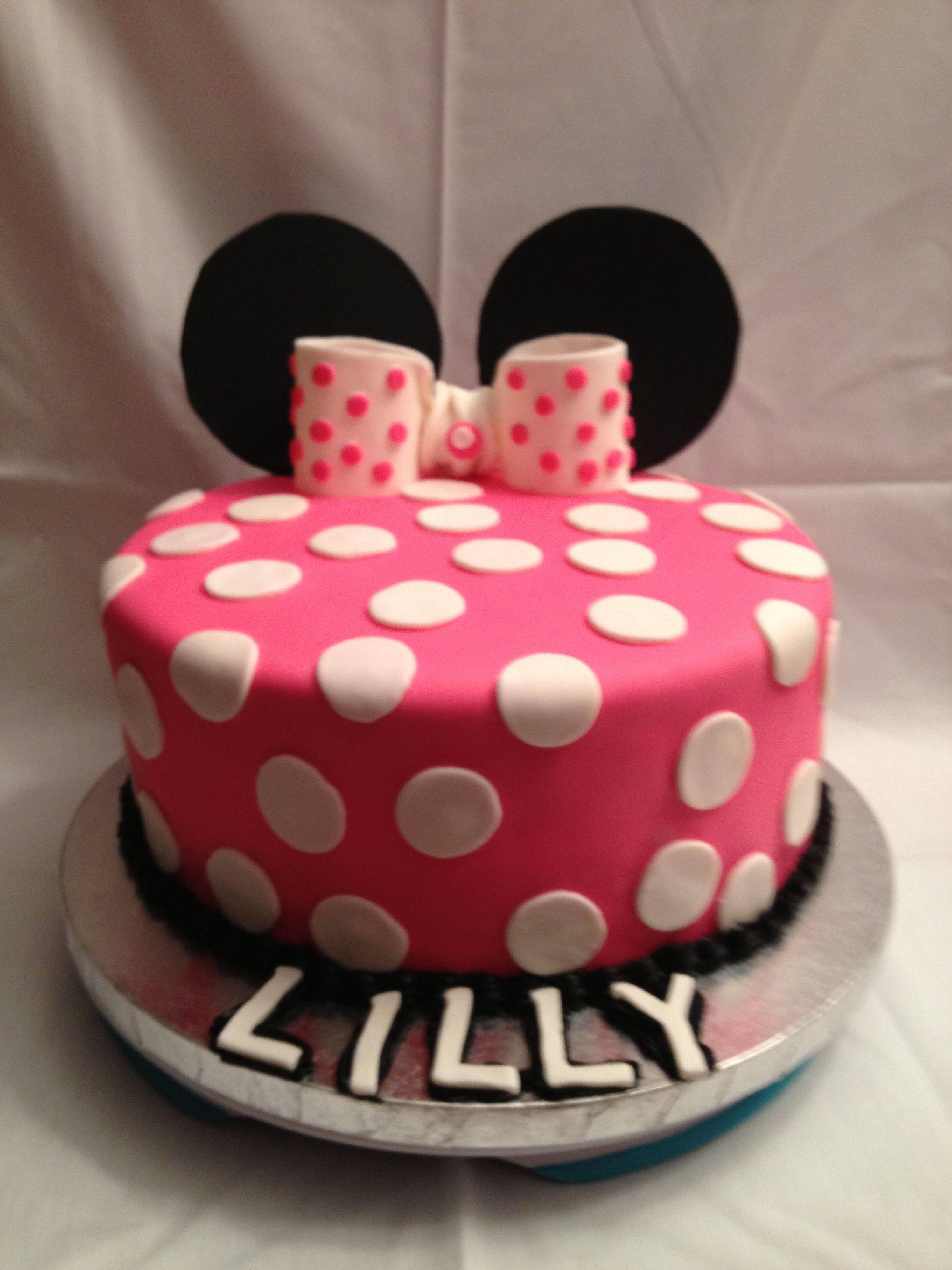 Minnie Mouse Cake Wiltoncontest Michaels Amarillo Tx My Wilton