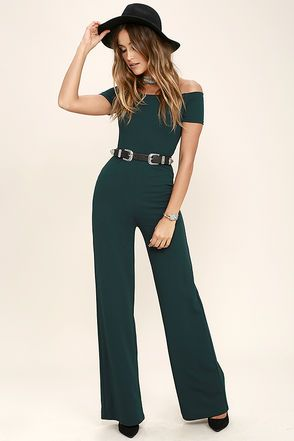 Green Jumpsuits for Juniors