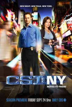 CSI:NY I miss this show, I wish it could come back!!!! Why did they cancel it but I think it did well for 9 seasons!!!!