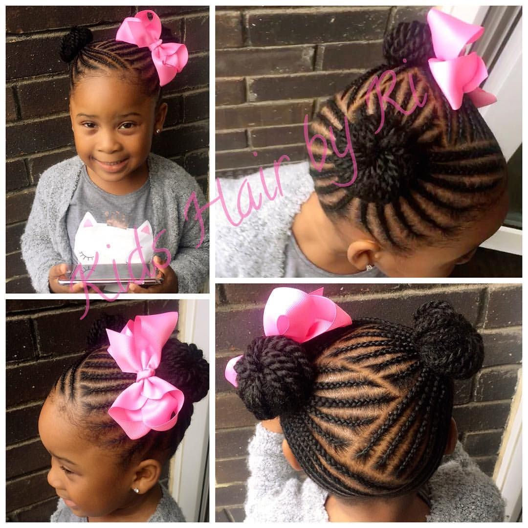 85 Mentions J Aime 2 Commentaires Kids Hair By Ri Kidshairbyri Sur Instagram 2 Buns With A Lovabo Braids For Kids Kids Hairstyles Baby Girl Hairstyles