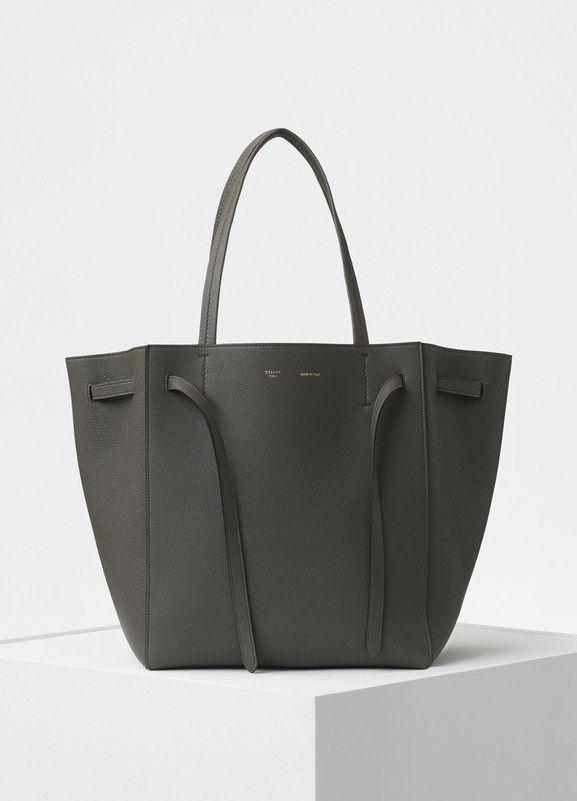 Small Cabas Phantom Bag in Soft Grained Calfskin - Céline   Shoes ... bafe87ed54