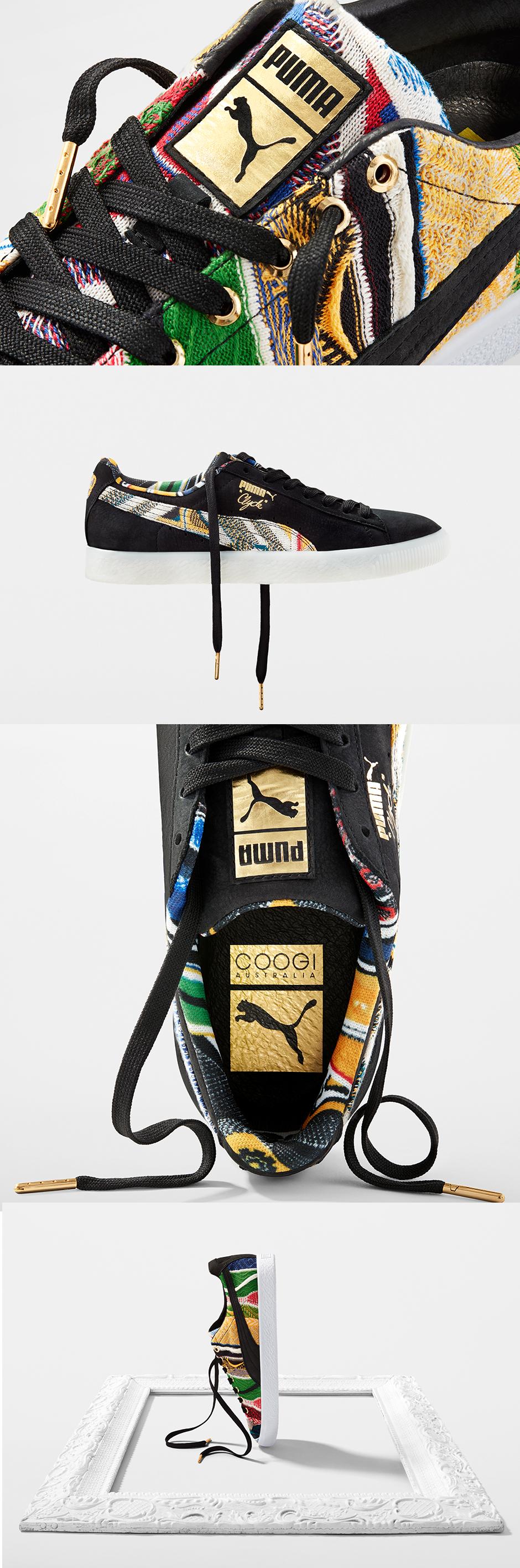 Coogi X Puma Clyde Wiosna 2017 Zapatos Puma Tenis Para Hombre Zapatillas