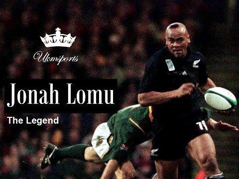 Jonah Lomu The Legend Tribute Jonah Lomu Rugby Boys All Blacks