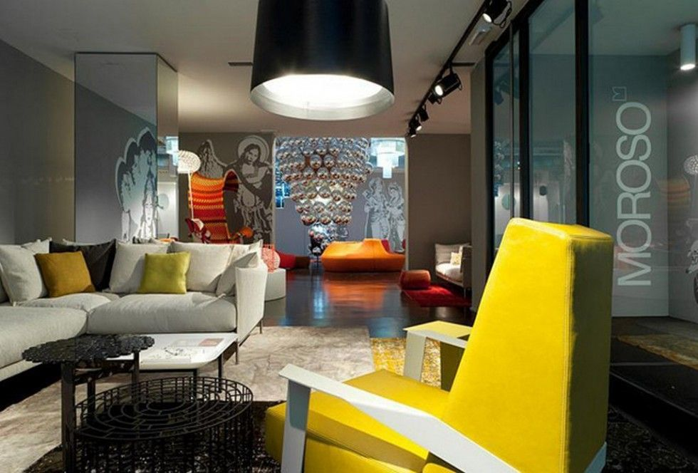 Milan Interior Design Furniture Shops Part 1
