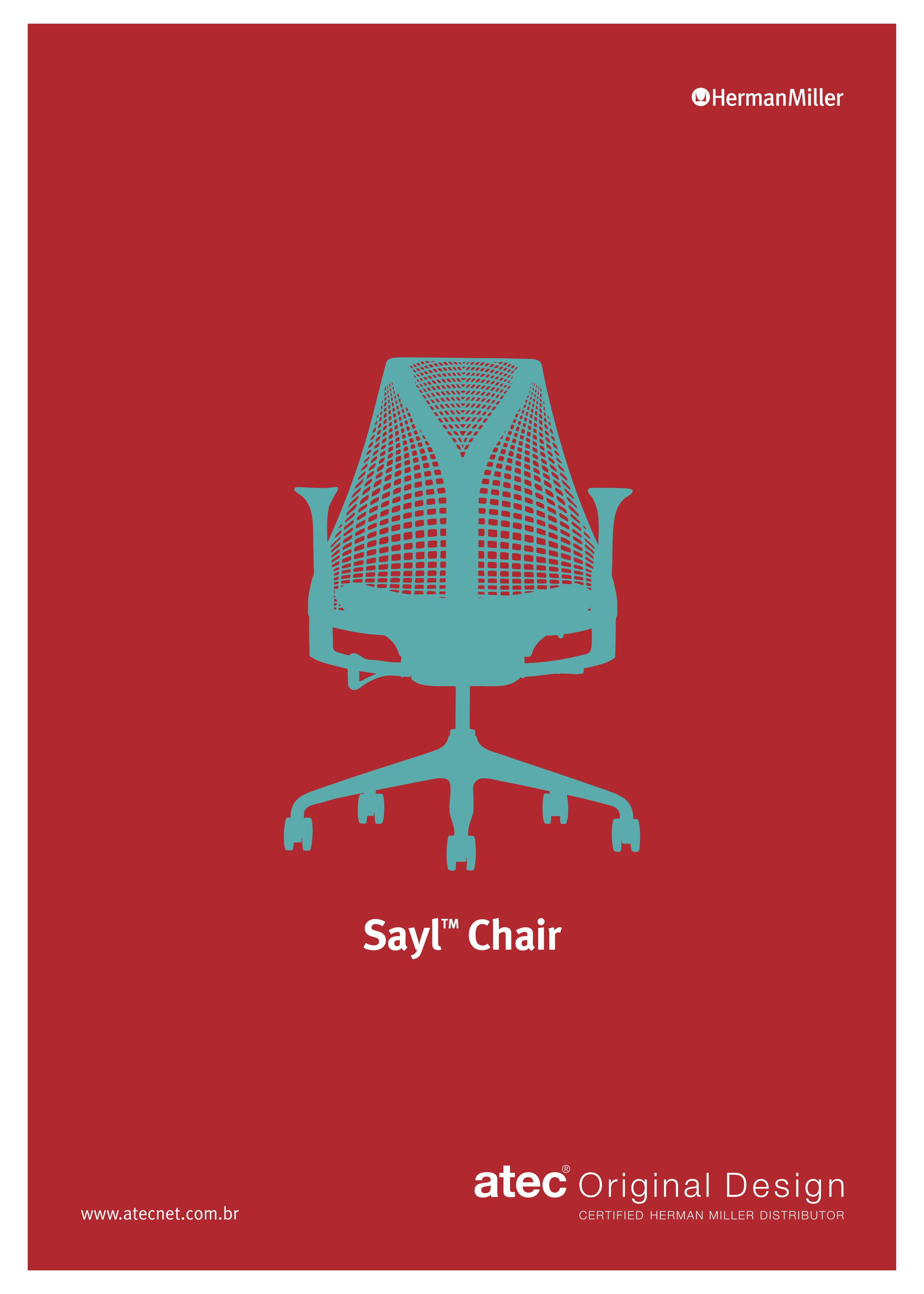 SAYL Chair Poster