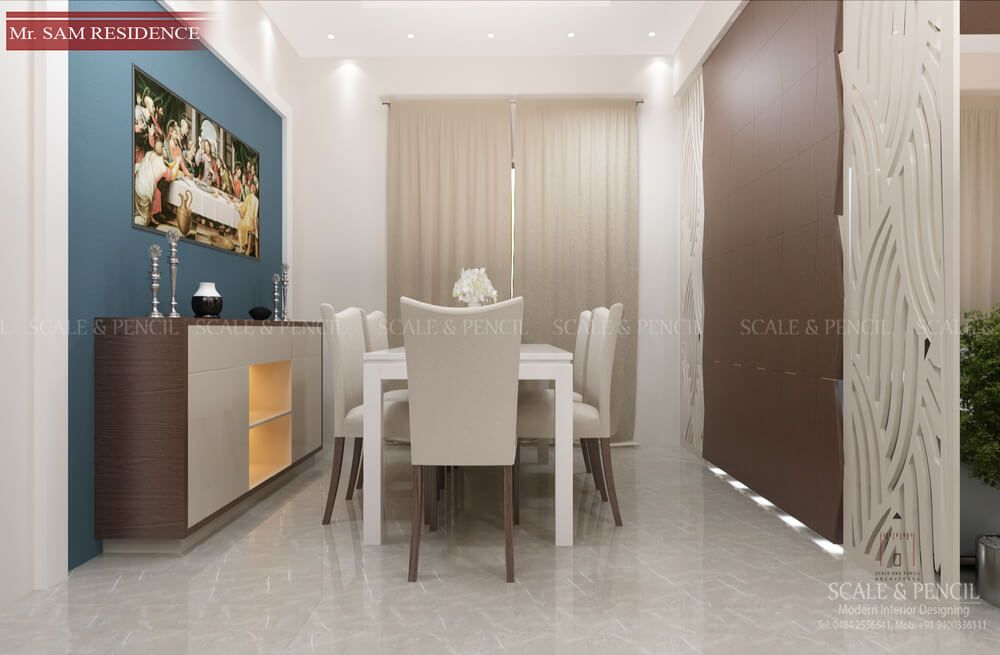 Dining Area Dining Room Interior Design Kochi Ernakulam