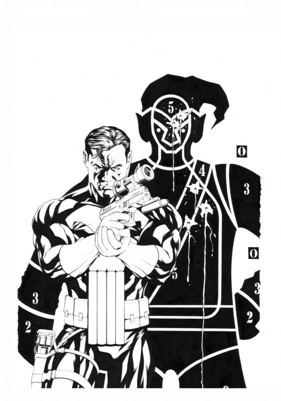 Punisher #2 by Mike McKone
