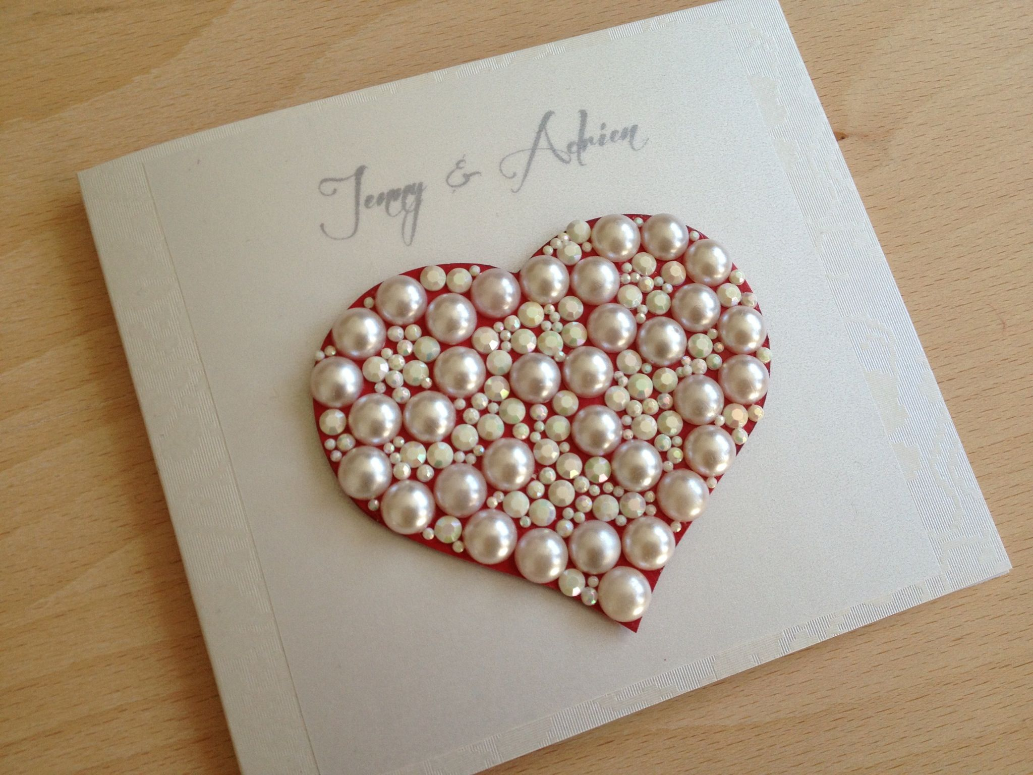Pretty handmade wedding greeting cards wedding cards pinterest pretty handmade wedding greeting cards kristyandbryce Image collections