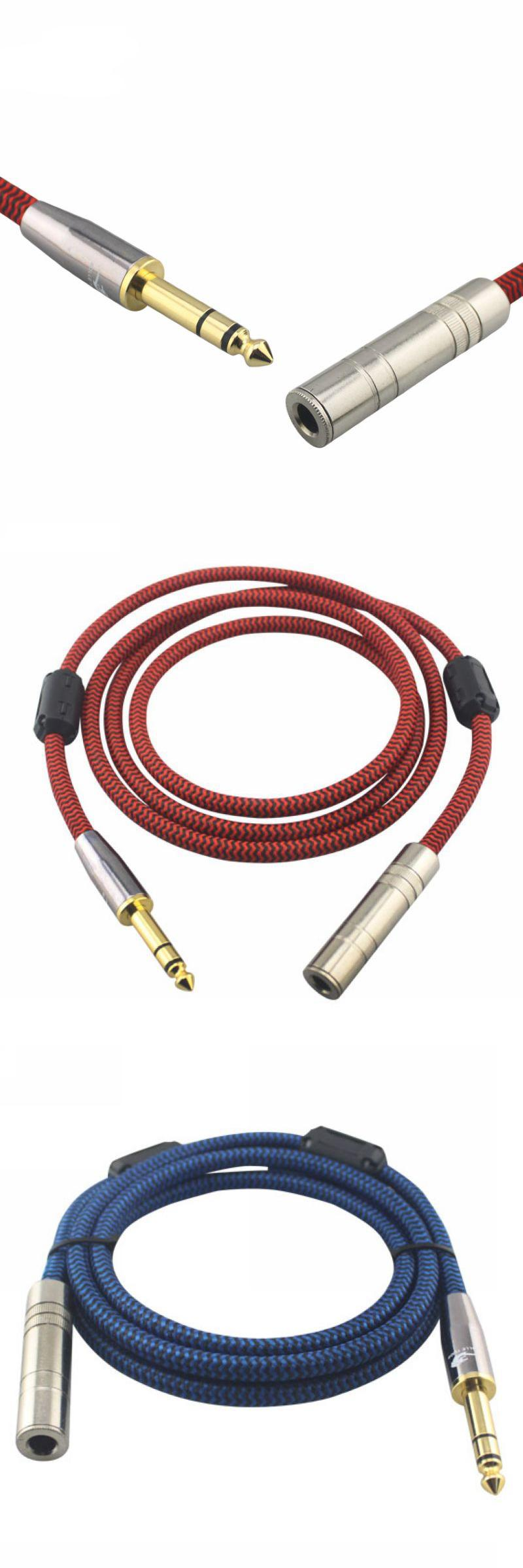 Visit To Buy Hifi Stereo Jack 6 35mm Male To Female 1 4 Trs Extension Cable Ofc Monitor Cable Braided 1m 2m 3m 5m 8m Advertis With Images Hifi Stereo Stuff To Buy