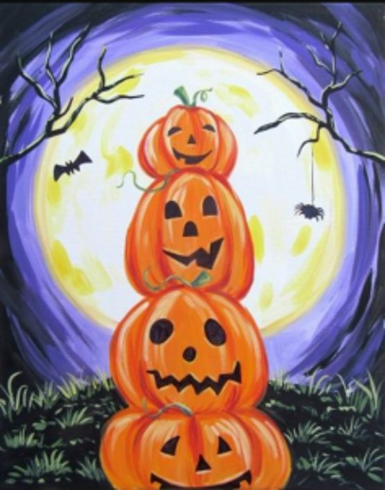 Halloween Tole Painting Projects - AmigurumiHouse #tolepainting