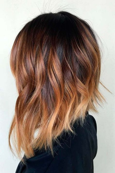 Color de cabello para morenas pelo corto
