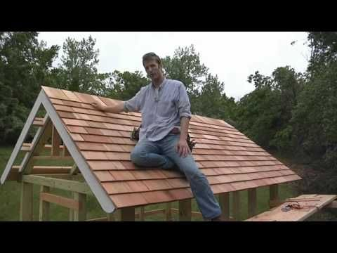 Best How To Install Cedar Shingle Siding And Polycarbonate Roof 400 x 300