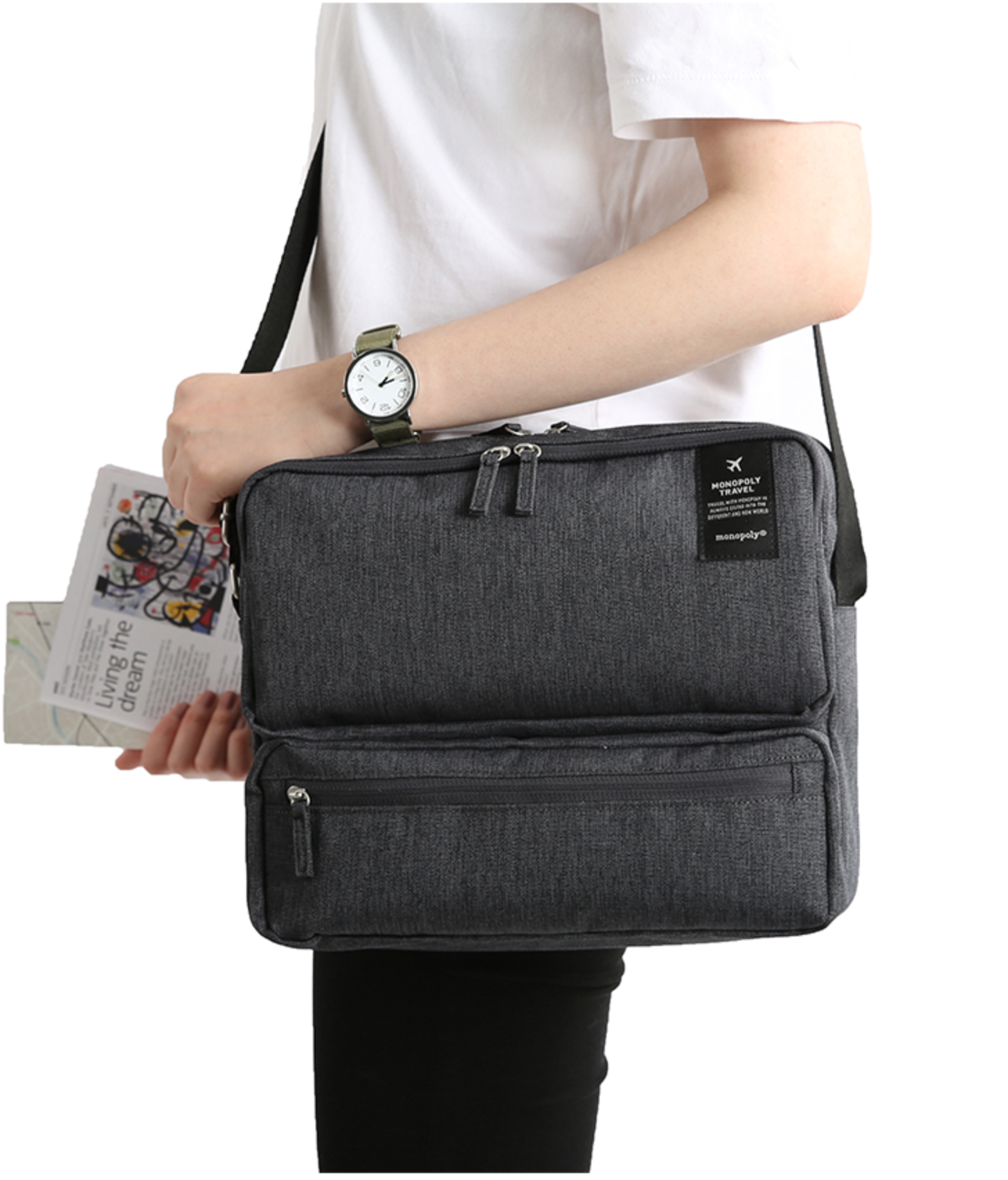 Monopoly Travel Messenger Bag | Monopoly and Messenger bags