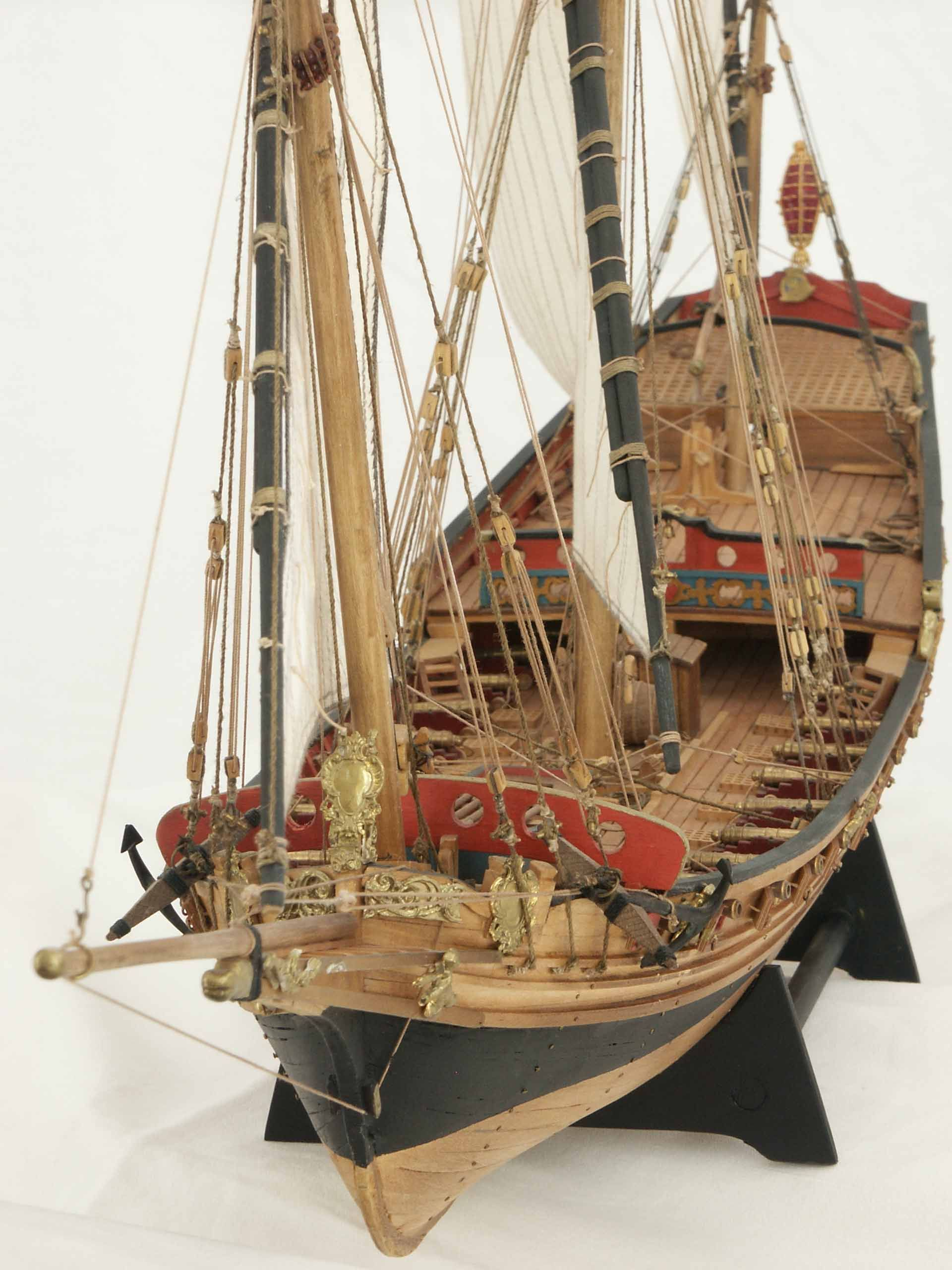 French Chebec Indiscret 1751 Saved by Stephen Lok ~END~ | Barcos De Madeira | Pinterest | Model ...