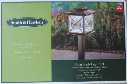 Smith Amp Hawken Solar Path Light Set By Smith Amp Hawken 43