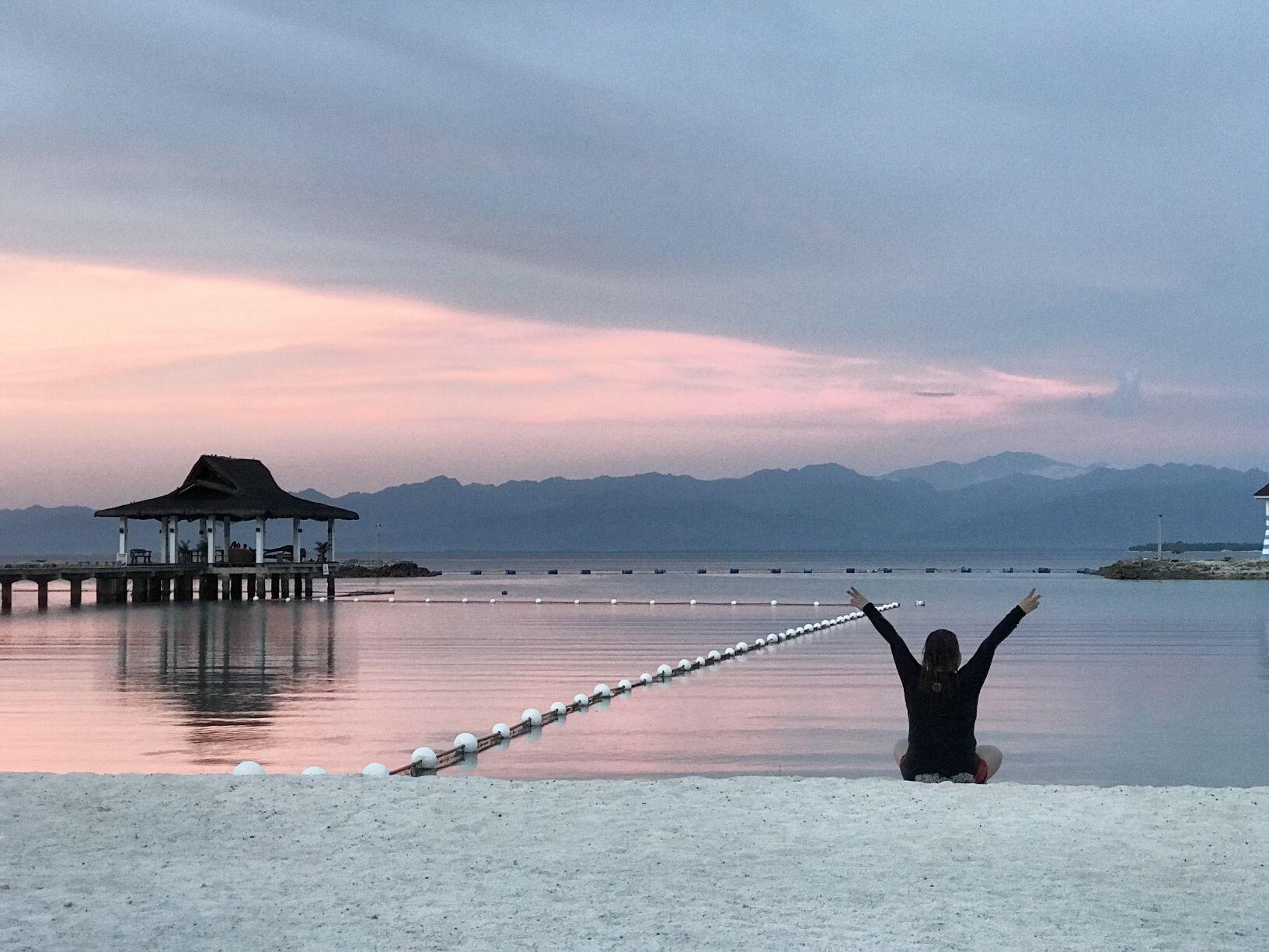 Sunset Secdea Resort Samal Island Philippines