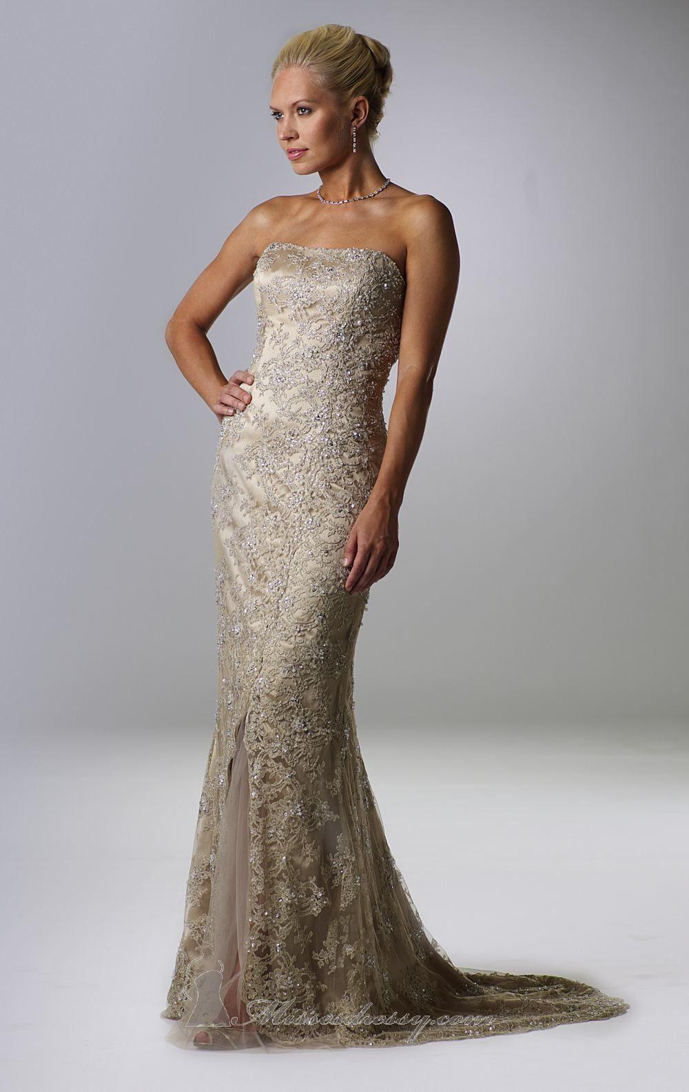 Wedding dress for evening  Rina diMontella  Dress  MissesDressy  Evening Dresses