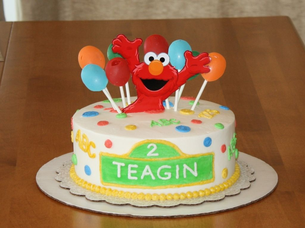 Elmo Cakes Decoration Ideas Little Birthday Cakes With Images