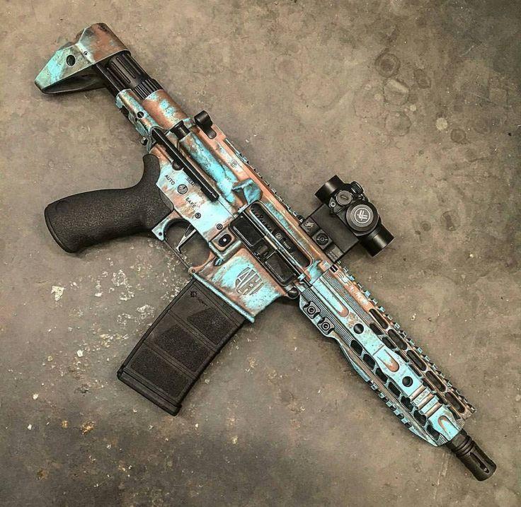 cool gun paint jobs