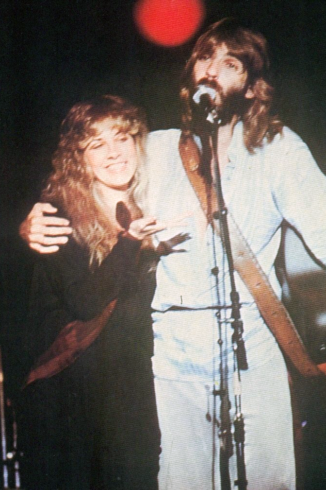 """crystallineknowledge: """"""""Stevie and Kenny Loggins photographed in ..."""