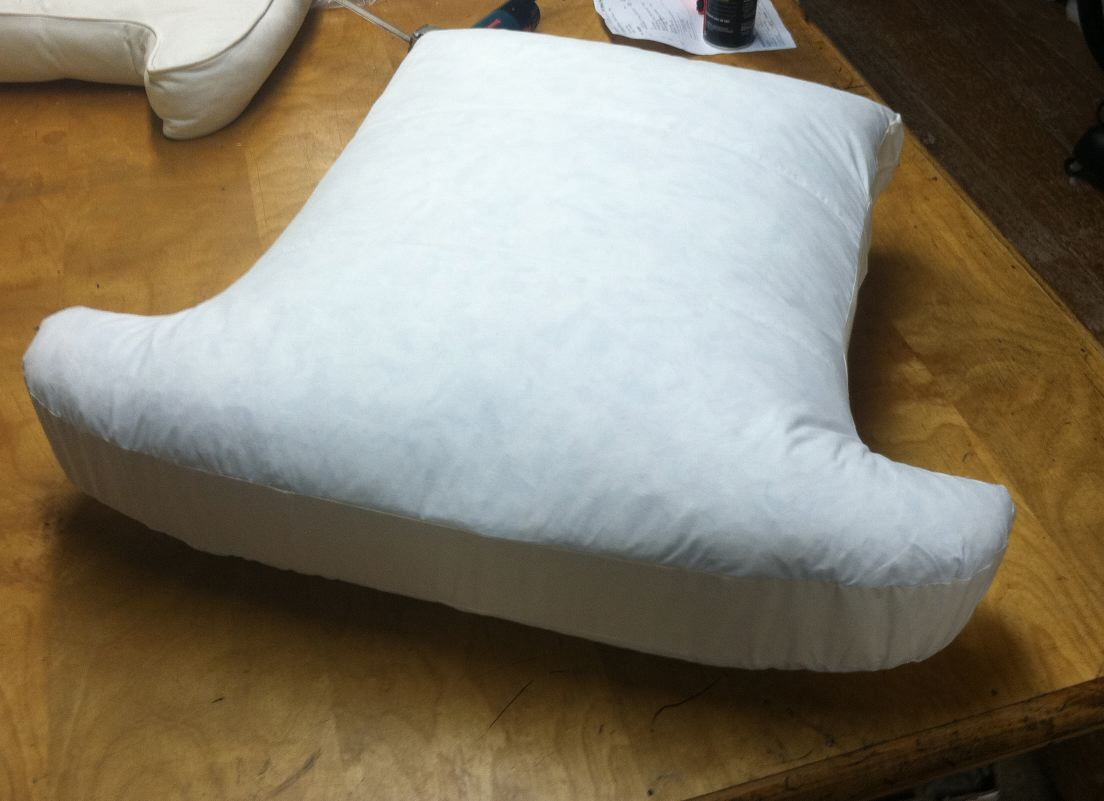 By Poly Down We Mean A Seat Cushion With A Foam Core That Is Inside A Down Feather Filled Envelope Or Jacket Old Cushions On Sofa Seat Cushions Cushions Down filling for sofa cushions
