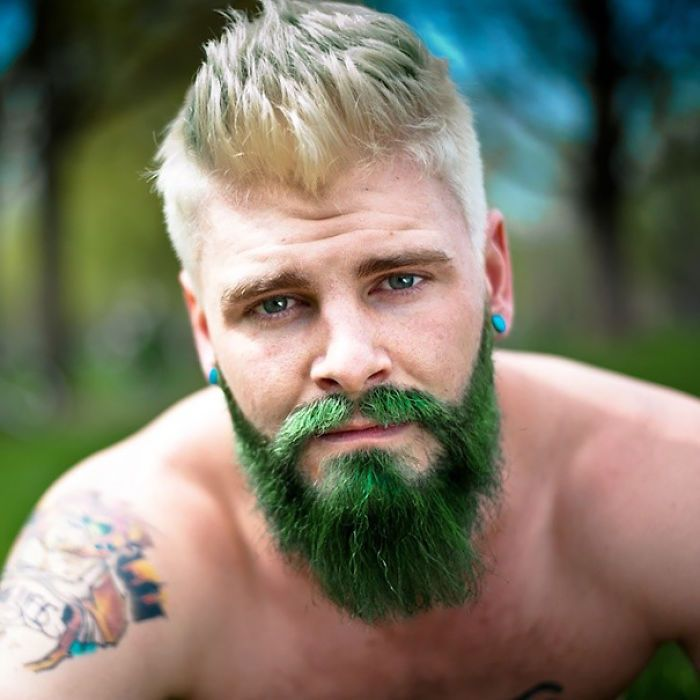 Merman Trend: Men Are Dyeing Their Hair With Incredibly Vivid ...