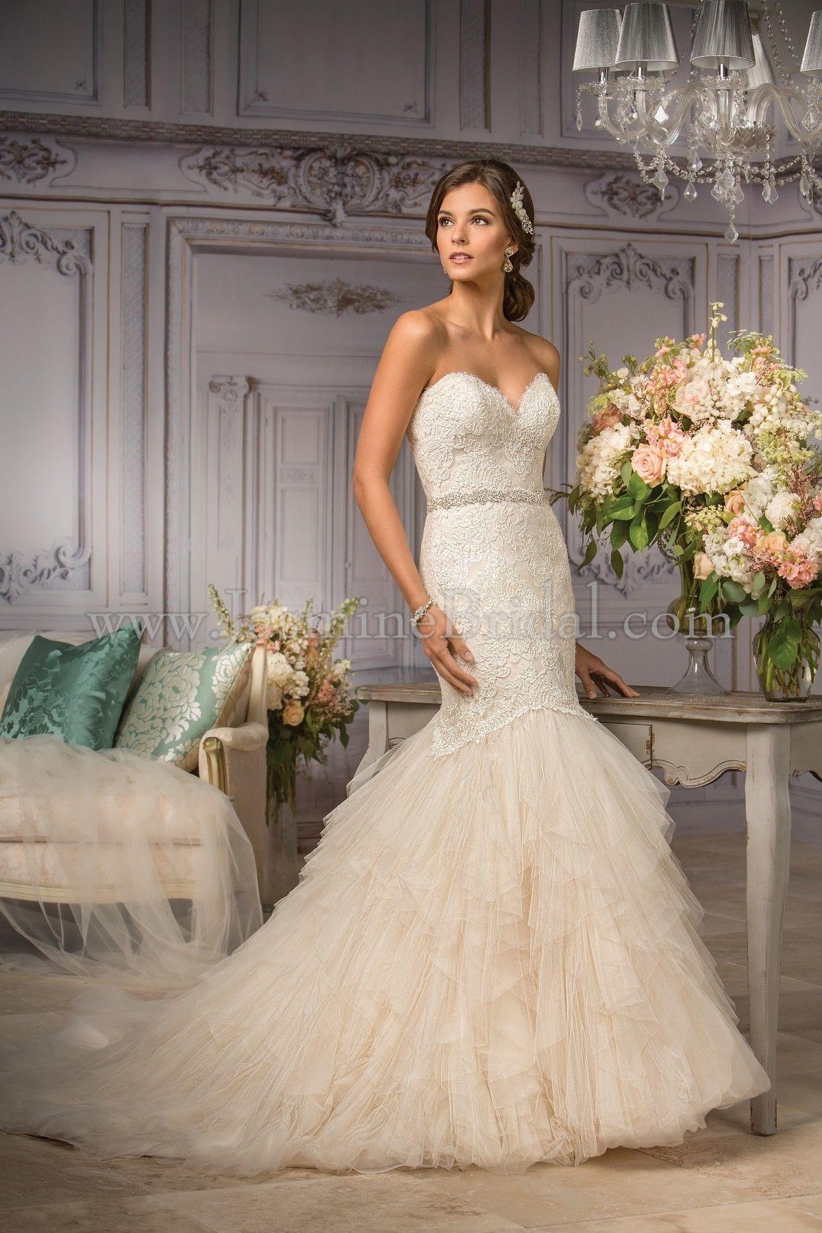 Jasmine wedding dresses  Jasmine Bridal Couture Style T in Ivory  Gold   Jasmine