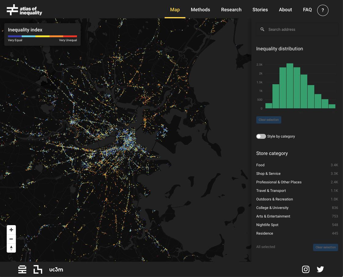 Atlas Of Inequality Mit Data Visualization Inequality Map