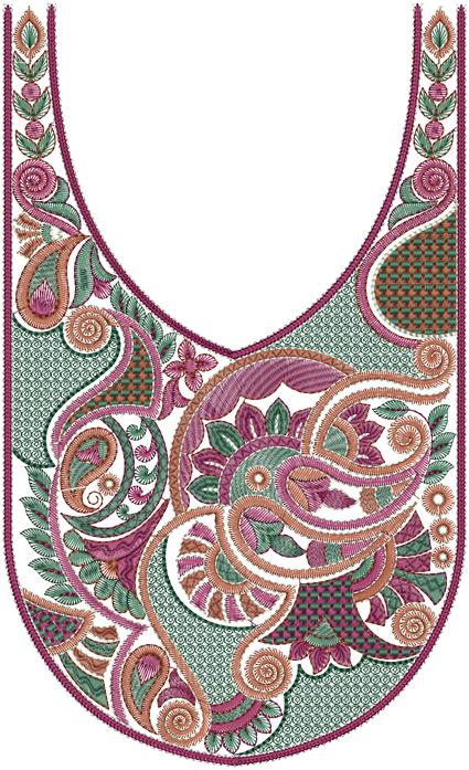 Designs Concept Embroidery Designs 37dress Nack Designs