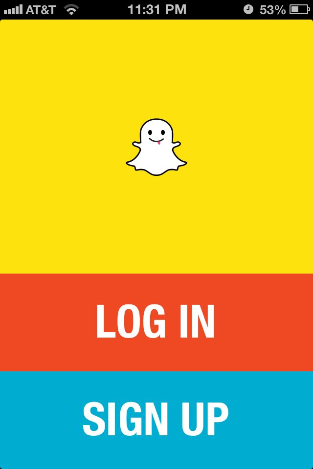 Snapchat (With images) Sign up page, App login, Snapchat
